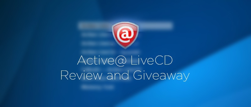 Active Live CD – Ultimate Bootable Recovery Toolset Review and Giveaway