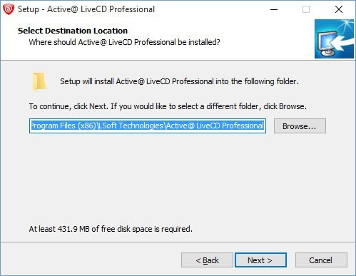 active-live-cd-install