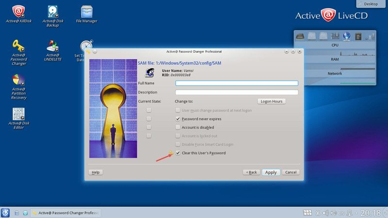active-live-cd-select-reset-password