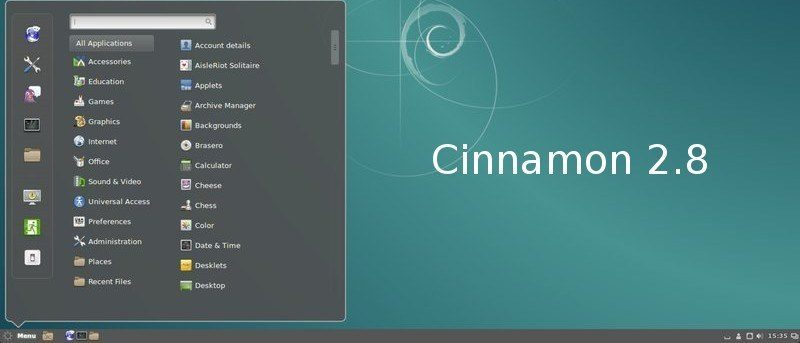 Review of Cinnamon 2.8