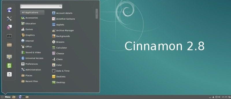 Review of Cinnamon 2.8