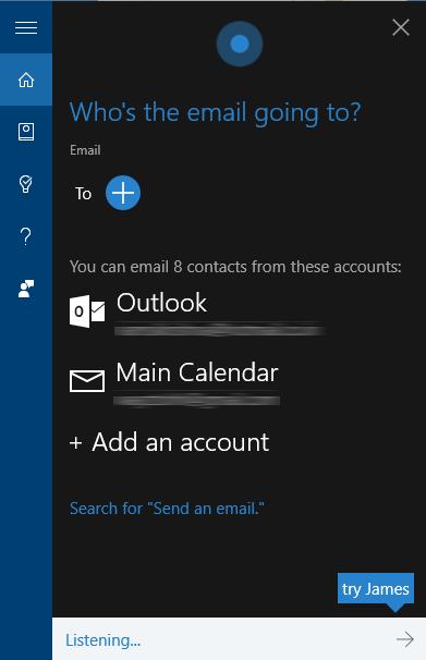 cortana-send-emails