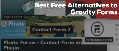 Best Free Alternatives to Gravity Forms for WordPress