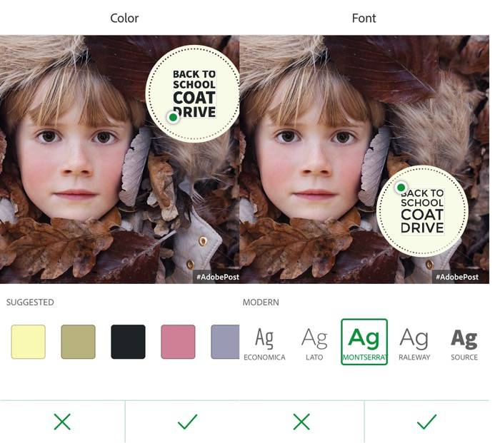 Adobe Post -mte- 04 - Color and Fonet