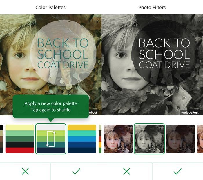 Adobe Post -mte- 07 - Color Palettes n Photo Filters
