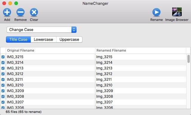 Batch Rename -mte- 08 - Change Case