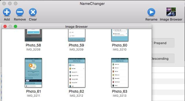 Batch Rename -mte- 10 - Image Browser