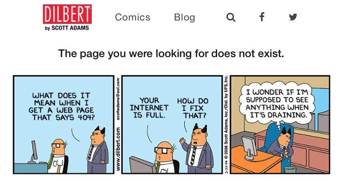 Creative 404 -mte- 15 - Dilbert