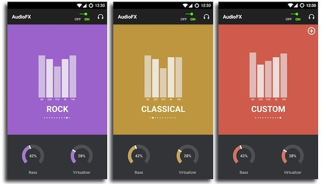 CyanogenMod AudioFX C-App