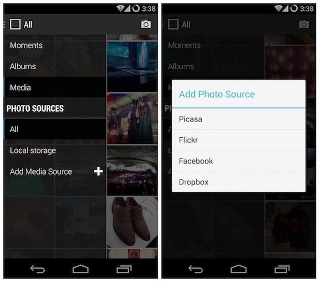 CyanogenMod Gallery C-App