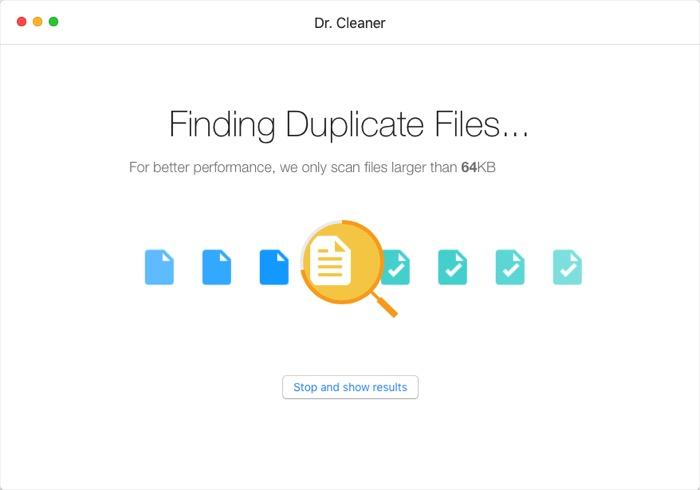 Dr. Cleaner -mte- Finding Duplicate Files
