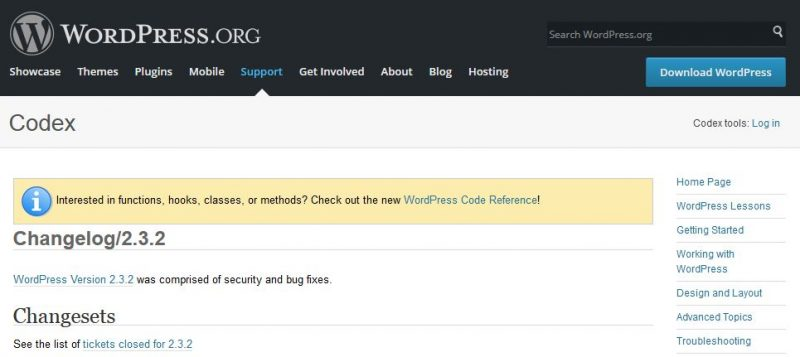 fixing-hacked-wordpress-changelog