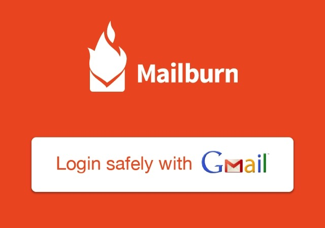 Mailburn -mte- 00 - Login With Gmail