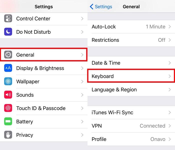 Next iOS Keyboard -mte- 02 - Settings