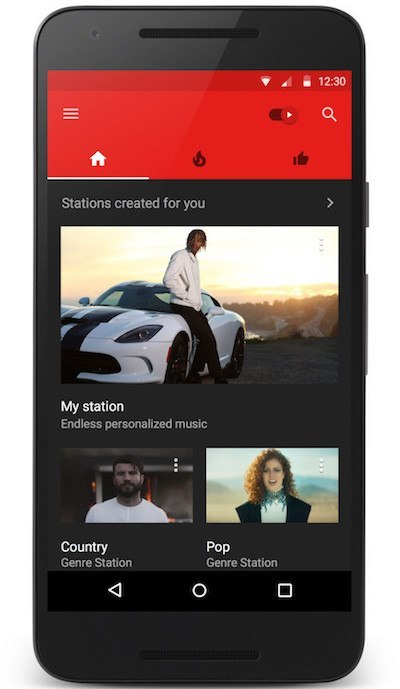 YouTube Music My Station