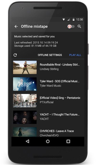 YouTube Music Offline
