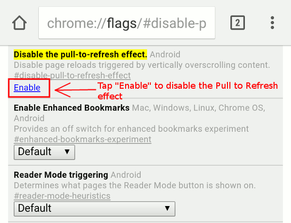 chrome-enable-disable-pull-to-refresh-effect