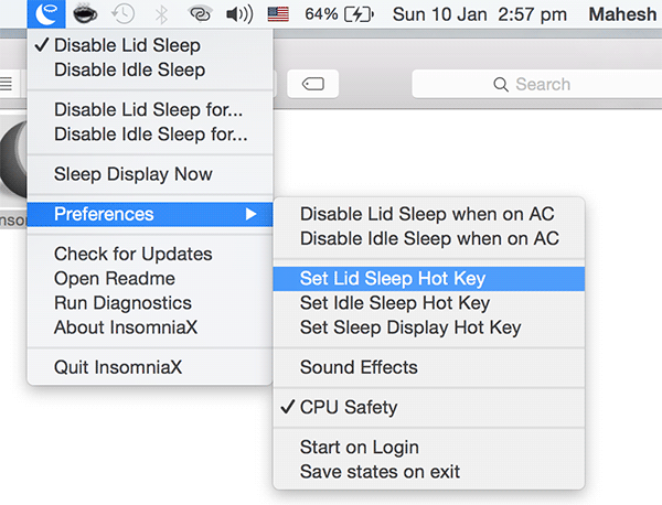 prevent-mac-sleeping-insomniax-setkey