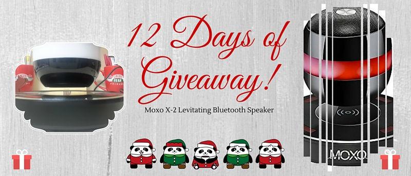 Moxo X-2 Levitating Bluetooth Speaker