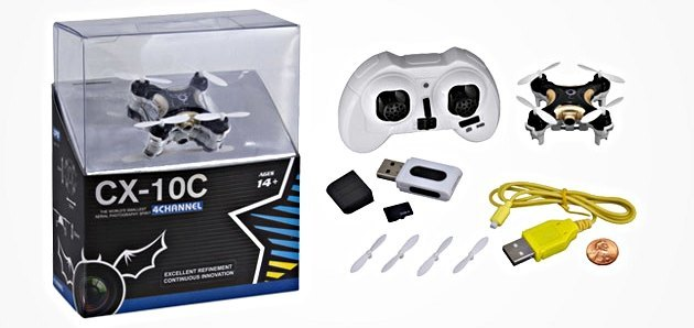 Cheerson CX-10C Nano Drone with Camera