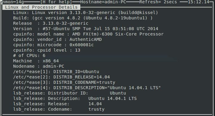 nmon_system_output