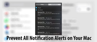 How to Disable All Notification Alerts on Your Mac