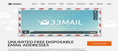 Easily Create Disposable Email Addresses That Have a Custom Domain with 33Mail