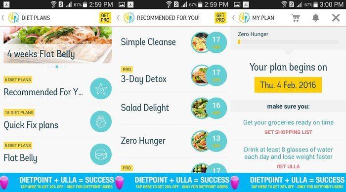 Android-Diet-Apps-Diet-Point