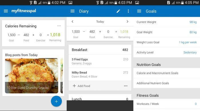 Android-Diet-Apps-MyFitnessPal