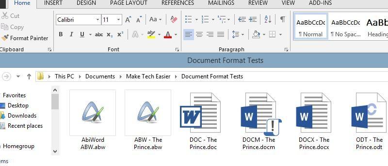 MTE Explains: Common Word Processor File Formats