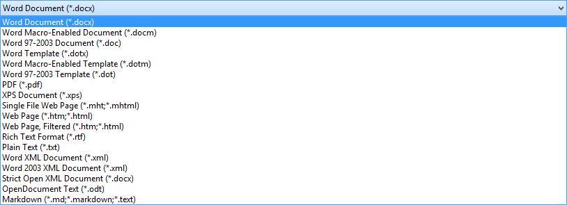 DFOM-Word-Formatlist