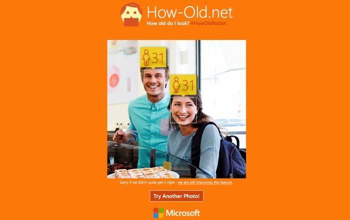 Microsoft Selfie -mte- how old