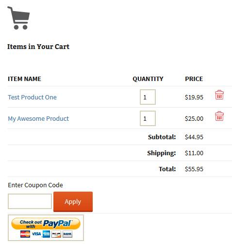 paypal-mte-wordpress-shopping-cart-example-screenshot