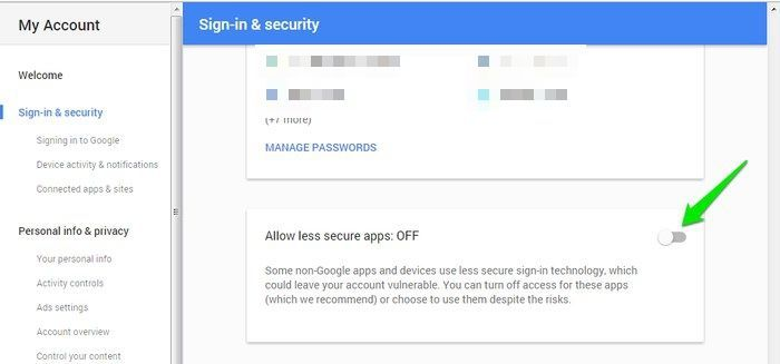Secure-Google-Account-Allow-Less-Secure-apps