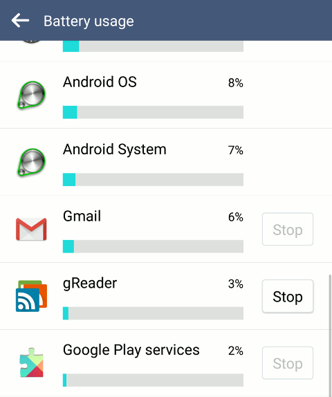 android-show-running-apps-battery-usage