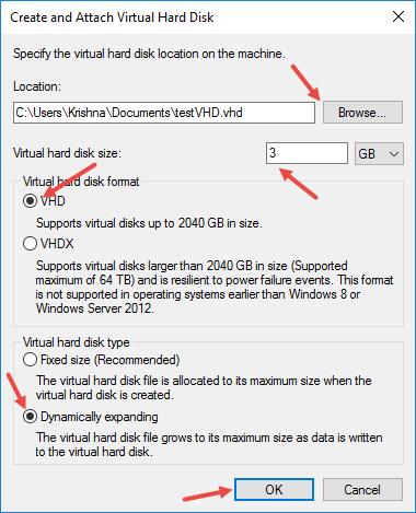 create-vhd-windows-initial-vhd-settings