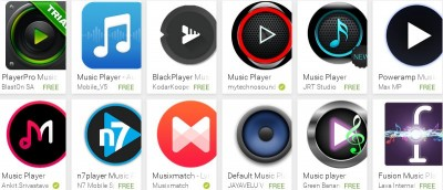5 of the Best Material Design Music Players for Android