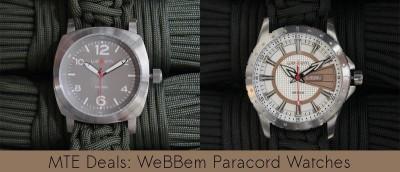MTE Deals: WeBBem Adventure-Ready Watches
