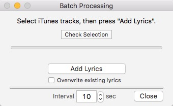 Singer Song Reader -mte- Batch Processing-1