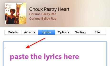 Singer Song Reader -mte- paste lyrics