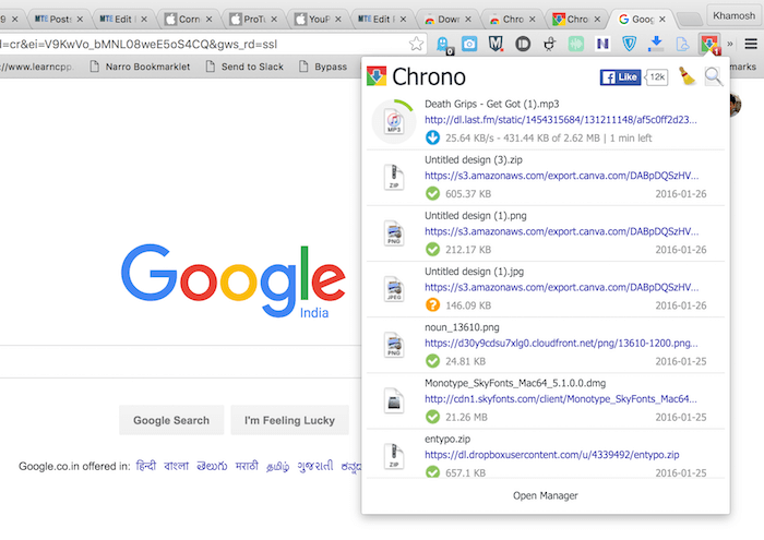 chrome-download-chrono