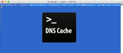 How to Wipe DNS Cache on Mac OS X El Capitan