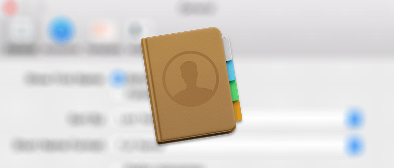 How to Disable Contacts Found in Mail on Your Mac