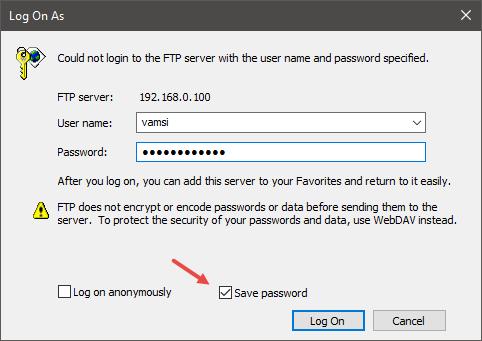 es-file-explorer-enter-username-password