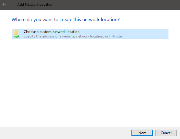 es-file-explorer-select-custom-network
