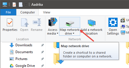 es-file-explorer-select-map-network-drive