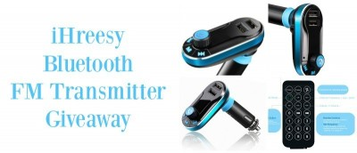 iHreesy Bluetooth FM Transmitter and Car Charger Review