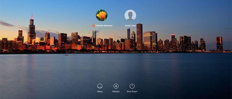 How to Change the Login Screen Wallpaper in OS X El Capitan