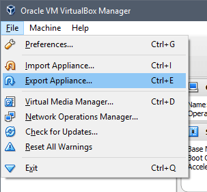 migrate-vm-select-export-appliance