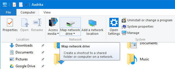 onedrive-select-map-network-drive